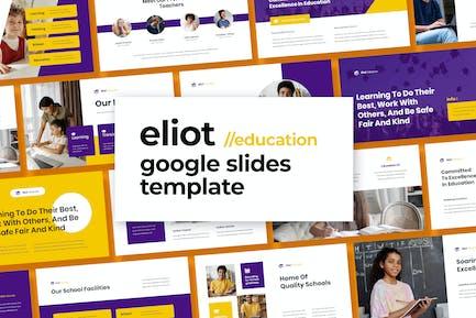 Eliot - Education Template Google Slides