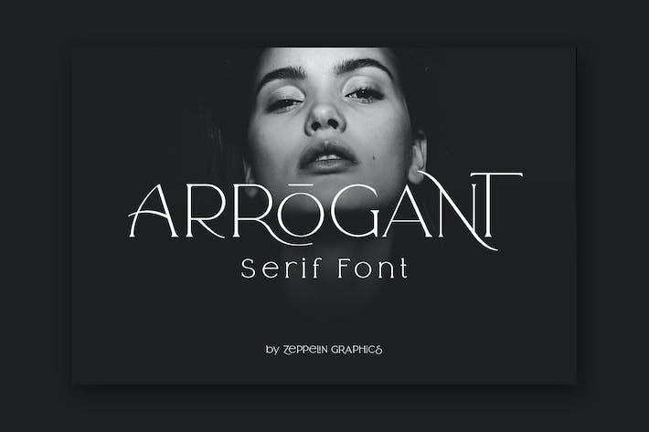 Thumbnail for Arrogant Font