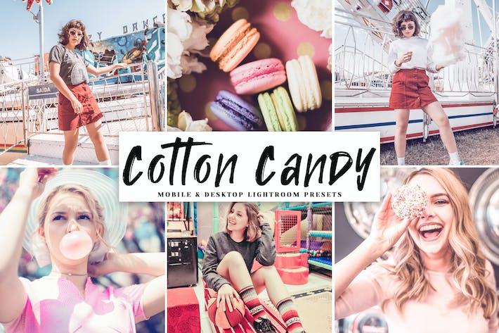 Thumbnail for Cotton Candy Mobile & Desktop Lightroom Presets