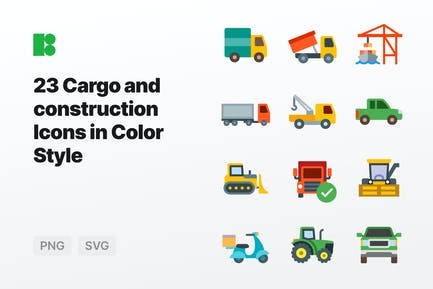 Color - Cargo and Construction