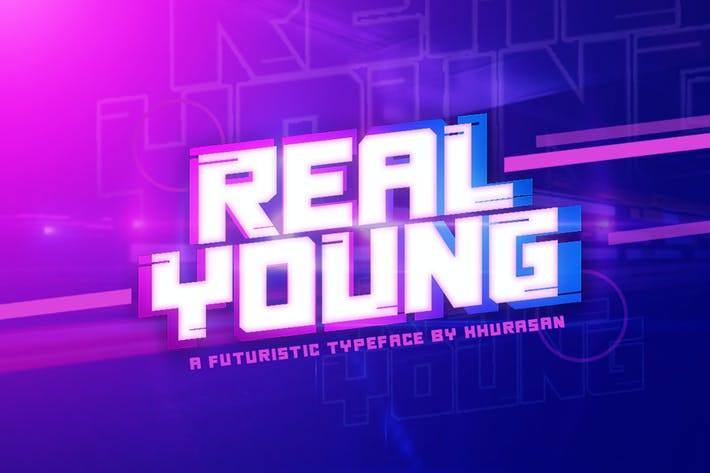 Thumbnail for Real Young Font