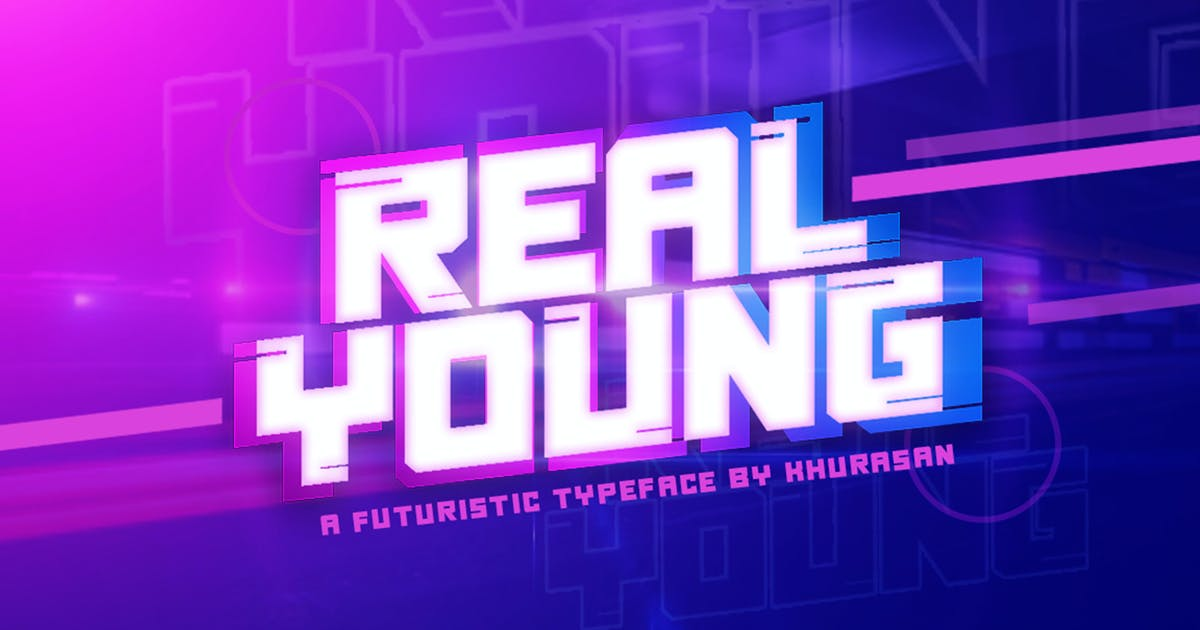 Download Real Young Font by khurasan