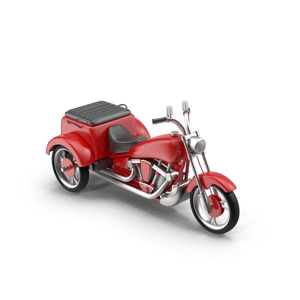 моторизованный трехколесный цикл