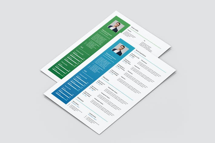 Thumbnail for Gradient – Resume and Cover Letter
