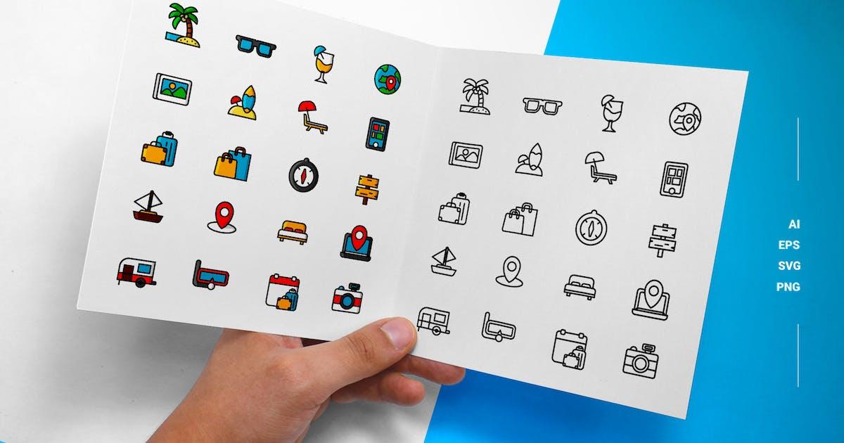 Download Tourism - Icons by esensifiksi