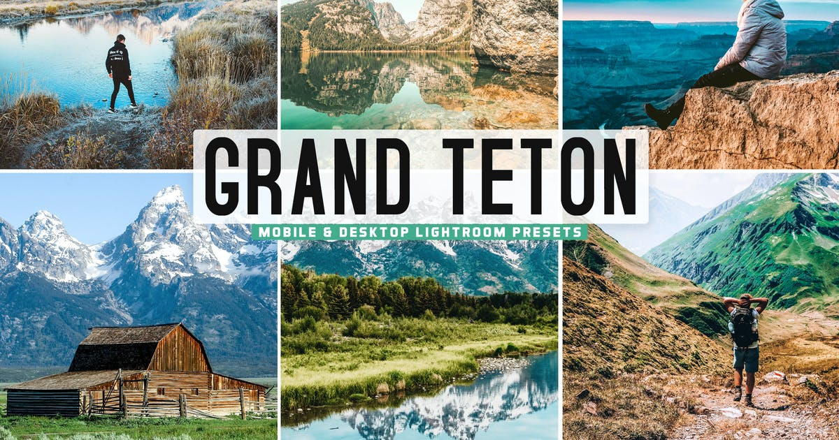 Download Grand Teton Mobile & Desktop Lightroom Presets by creativetacos