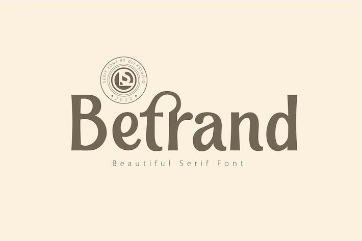 Thumbnail for BETRAND - Serif