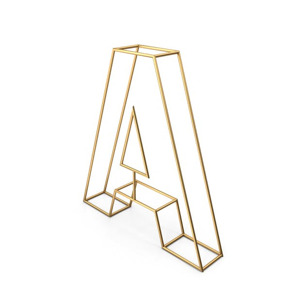 Thumbnail for Decorative Wire Letter A