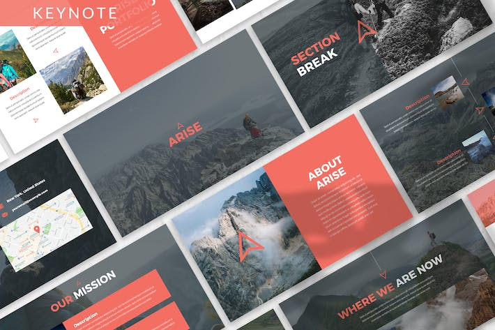 Thumbnail for Arise - Business Keynote Template