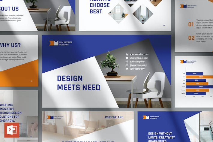 Thumbnail for Interior Designer Firm PowerPoint Presentation