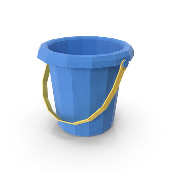 Thumbnail for Low Poly Sand Bucket