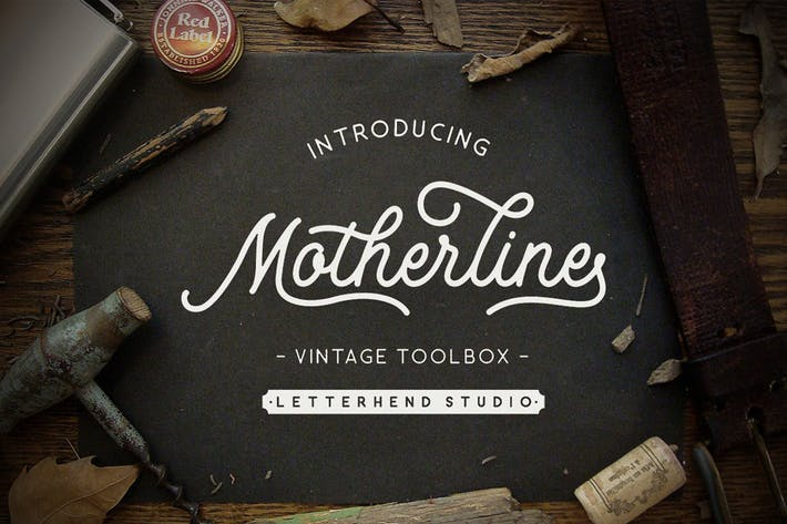 Thumbnail for Motherline Vintage Toolbox