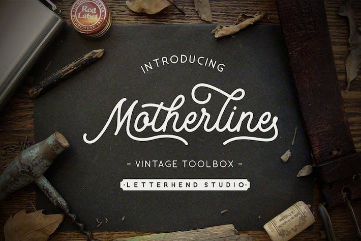 Thumbnail for Boîte à outils Motherline Vintage