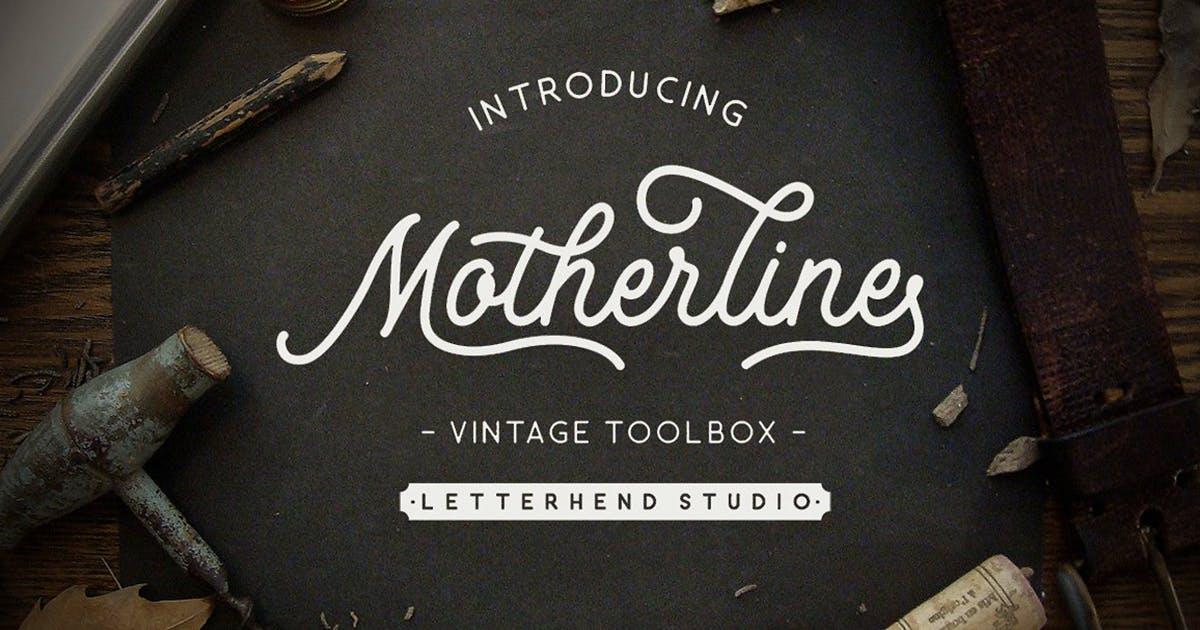 Download Motherline Vintage Toolbox by letterhend