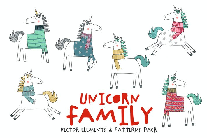 Thumbnail for Unicorn Family Pack