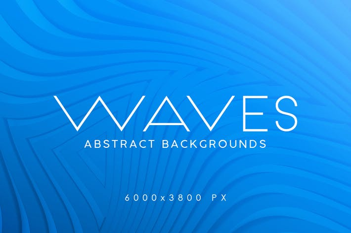 Thumbnail for 3D Waves Abstract Backgrounds