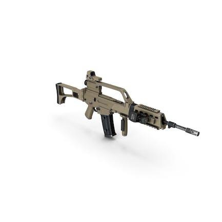 Rifle Modern Marrón