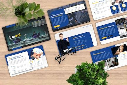 Varoni - Corporate Powerpoint Template