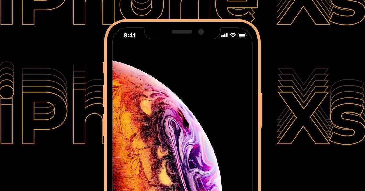 Download iPhone Xs Mockup by Yulko