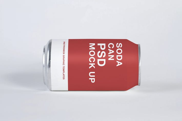 Thumbnail for Soda Can Mock Up Vol 02