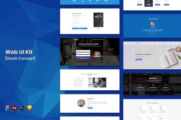 Ebook Web UI Kit