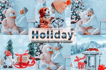 Moody Holiday Lightroom Presets