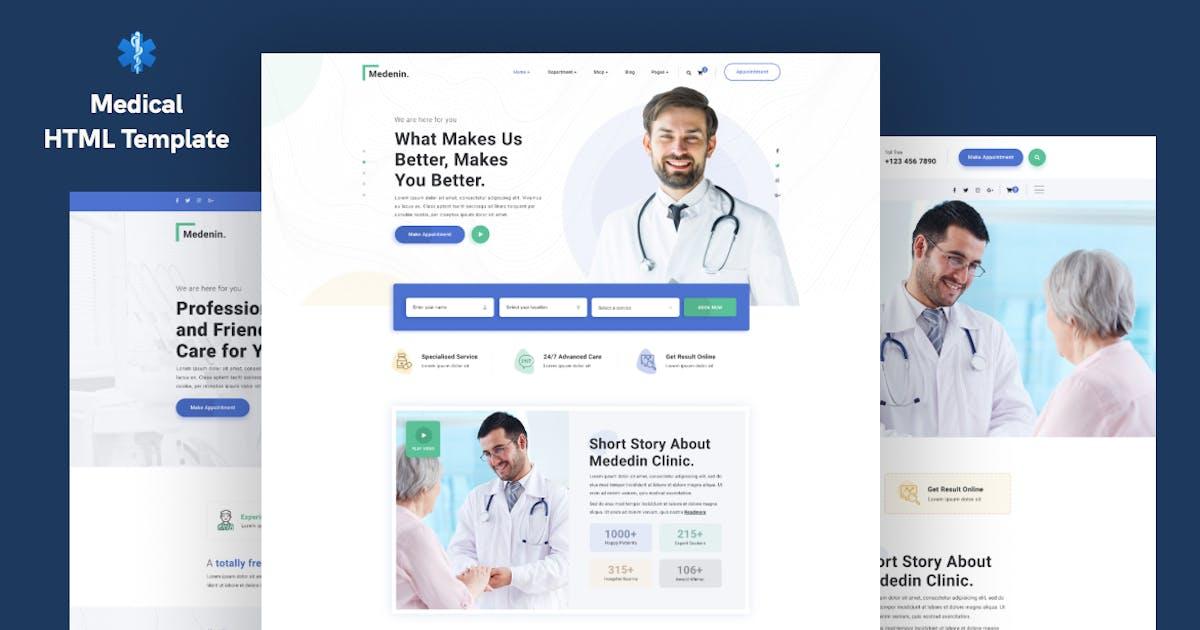 Download Medenin — Medical & Health Website Template by surjithctly