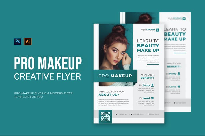 Pro Makeup - Flyer