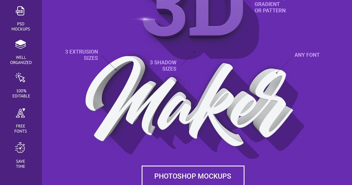 Download 3D Maker - Text Effects by Sko4
