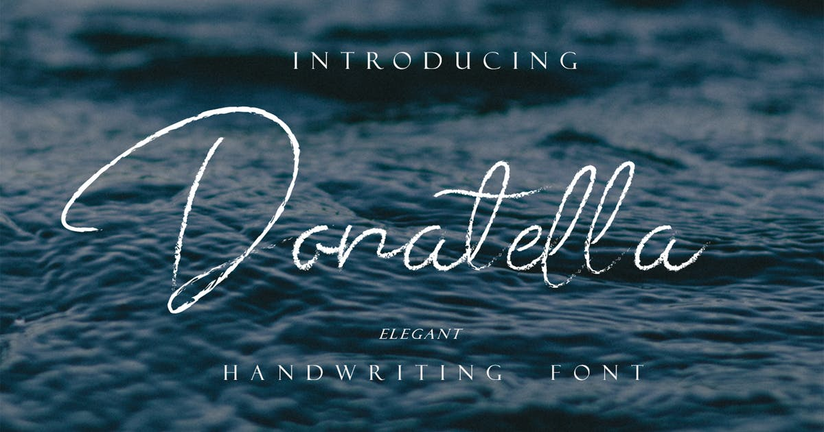 Download Donatella - Handwritten Signature by arendxstudio