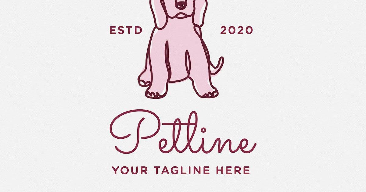 Download Petline Logo Template - Dog by telllu