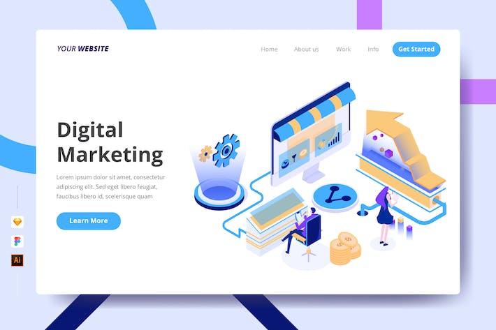 Thumbnail for Digital Marketing - Landing Page