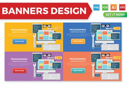 Programming banners design