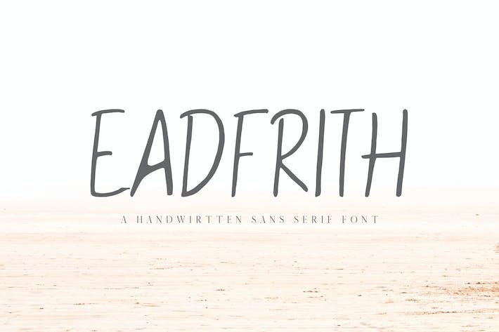 Eadfrith Handwirtten Sans Con serifa Fuente de fuente