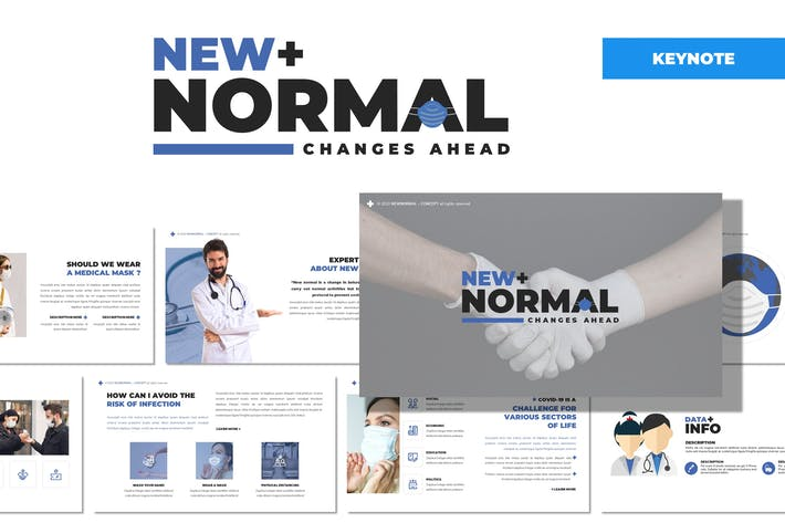 Thumbnail for New Normal - Health Keynote Template