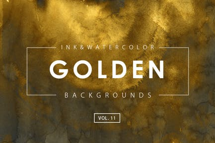 Golden Ink Backgrounds 11