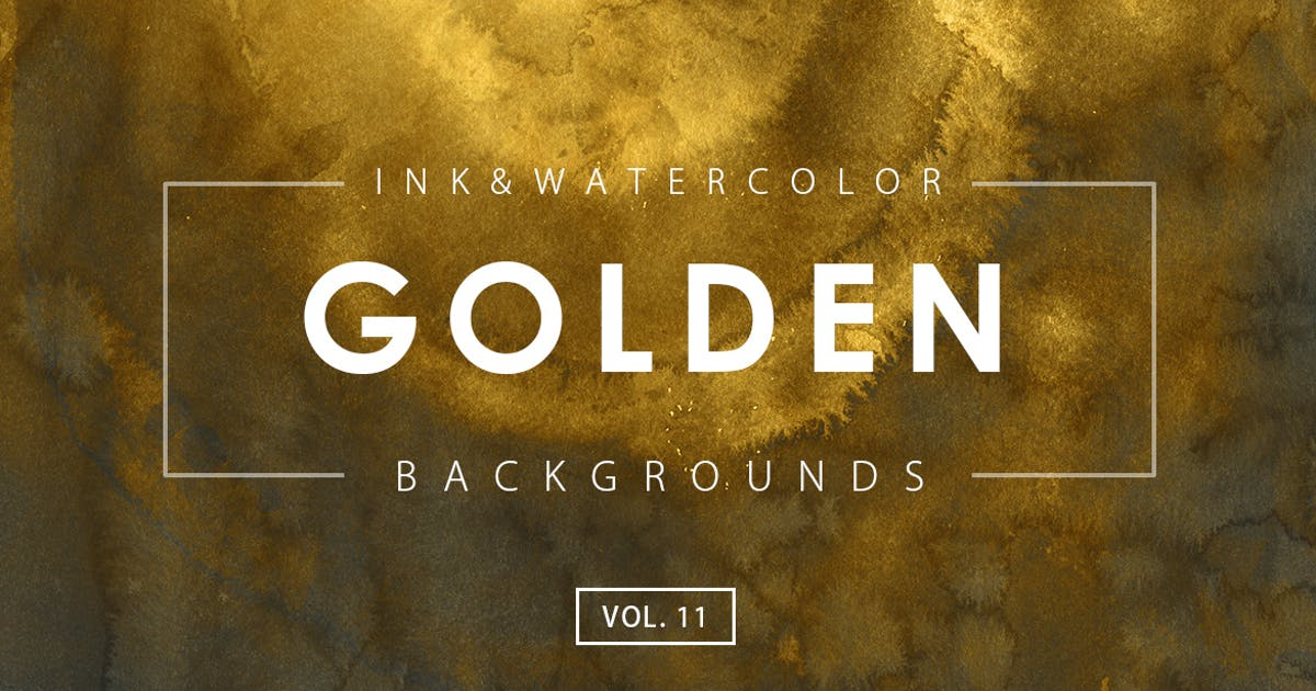 Download Golden Ink Backgrounds 11 by M-e-f