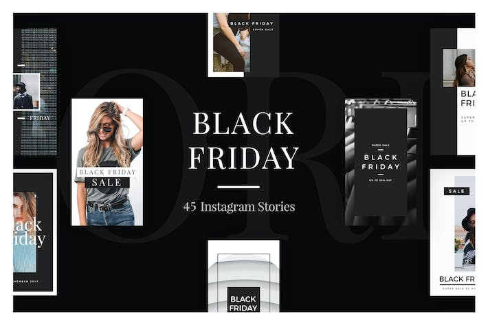 Thumbnail for 45 Black Friday Instagram Stories