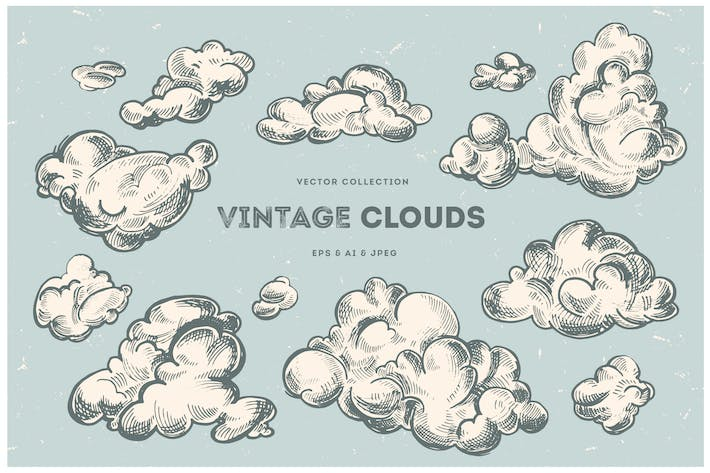 Vintage Clouds Collection