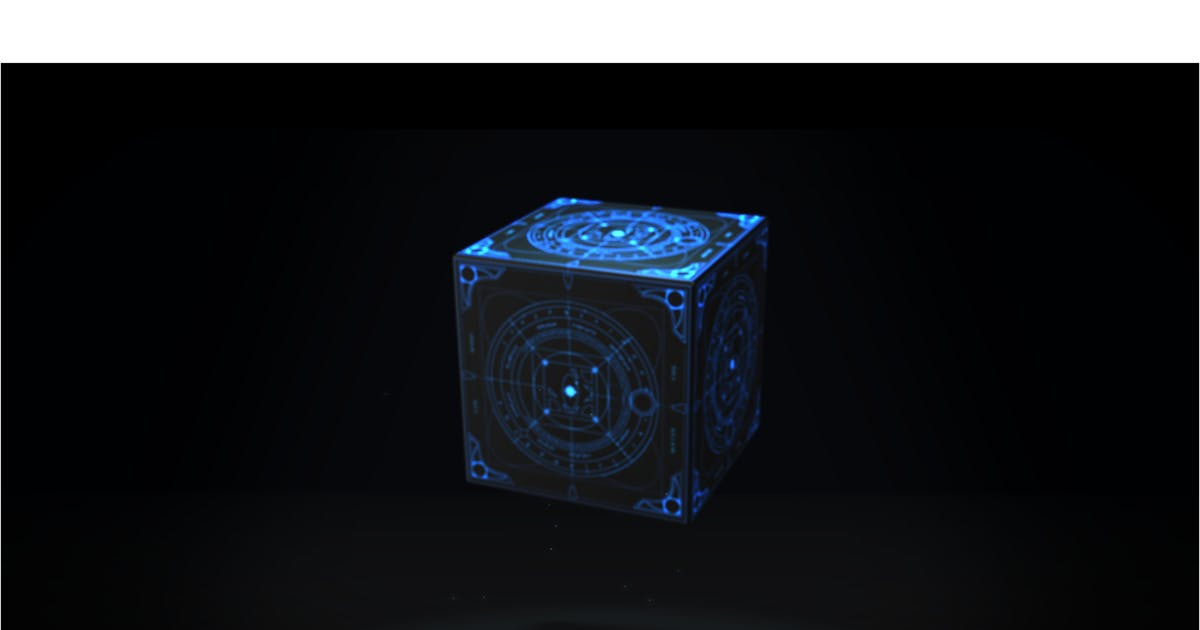 Download The Cube by VFX_Animation