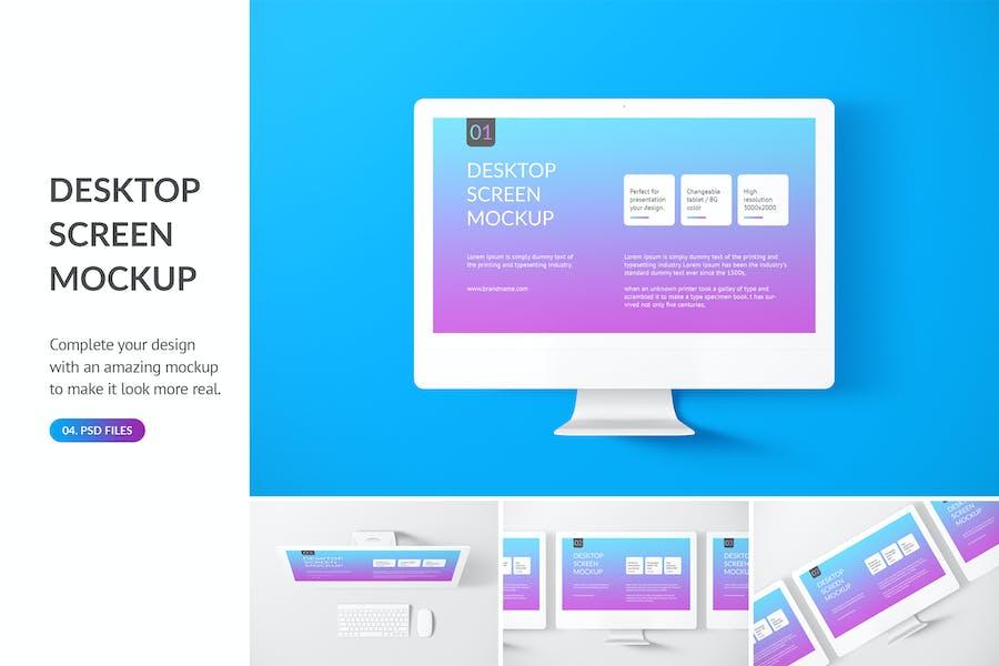 Unicolor Desktop Mockup