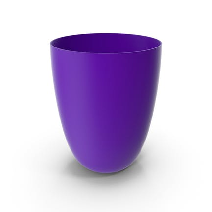 Plastic Cup Violet
