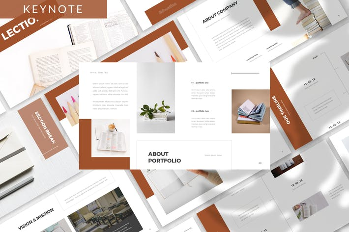 Thumbnail for Lectio - Business Keynote Template