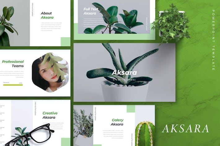 Thumbnail for AKSARA - Creative Powerpoint Template