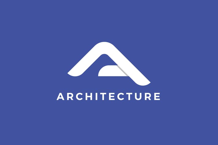 Cover Image For Architecture A Letter Logo Template