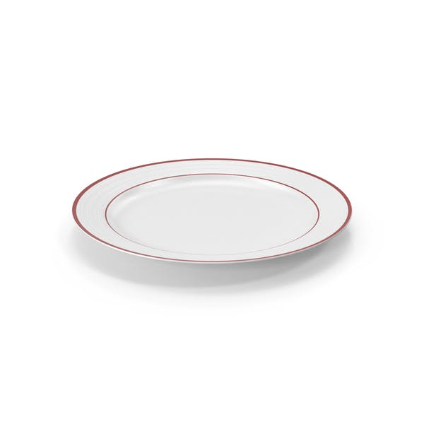 Thumbnail for Roulette Dinner Plate Red Band