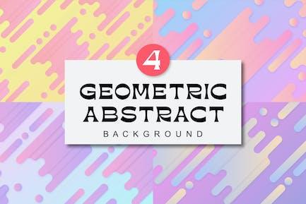 Geometrischer abstrakter Hintergrund MS