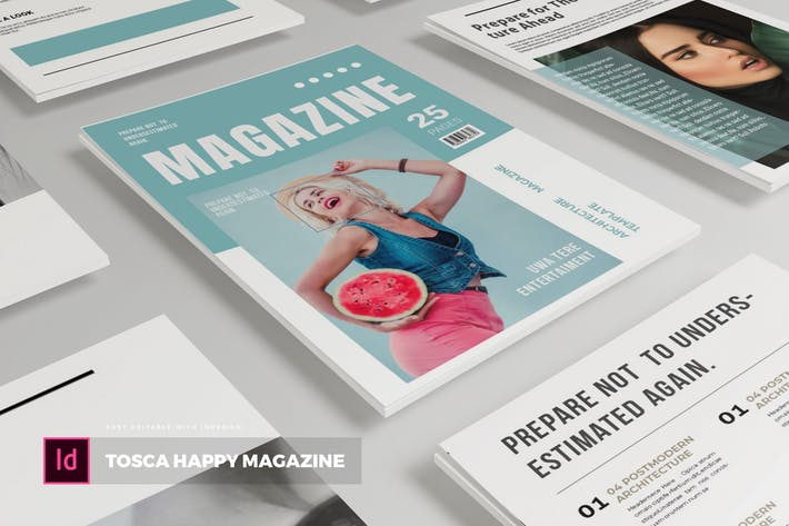 Thumbnail for Tosca Happy | Magazine Template