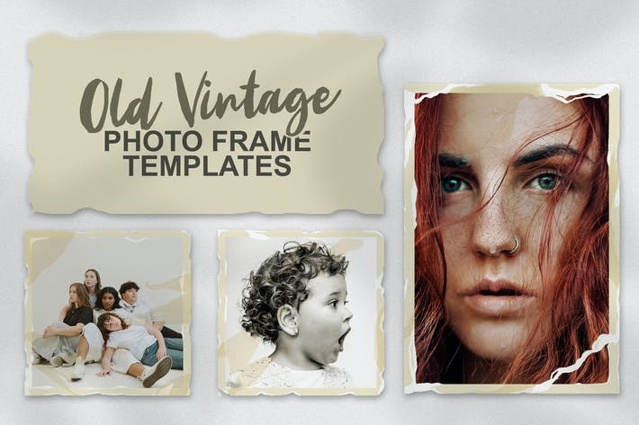 Thumbnail for Old Vintage Photo Frame Templates