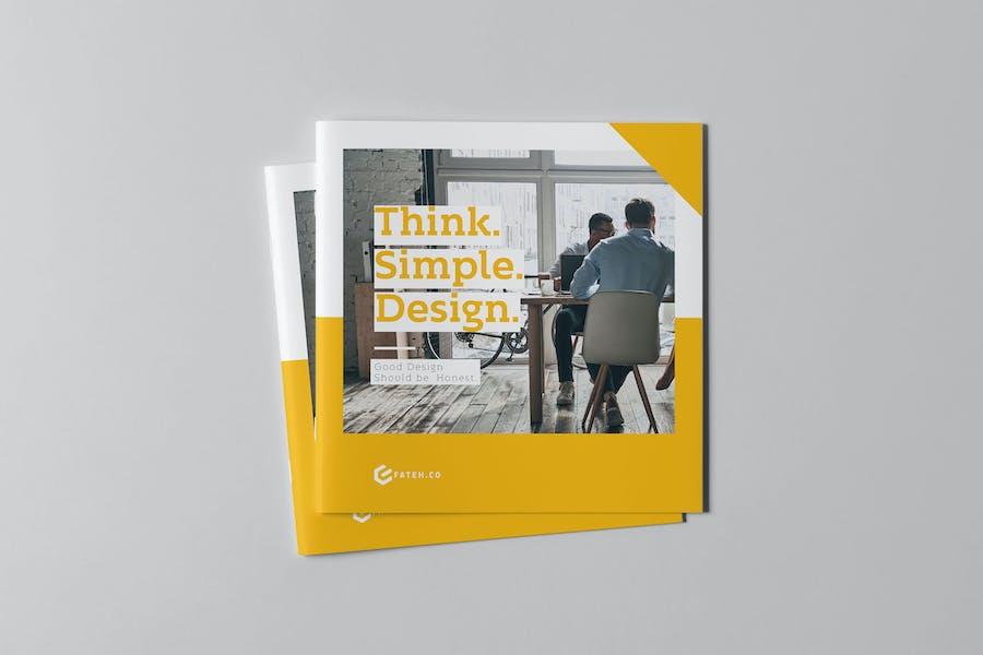 Business Brochure Square